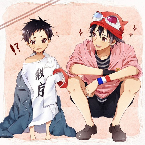 Tags: Anime, Ojisan (Sabayomi), SKET Dance, Fujisaki Yusuke, Tsubaki Sasuke, Pixiv, Fanart, Fanart From Pixiv