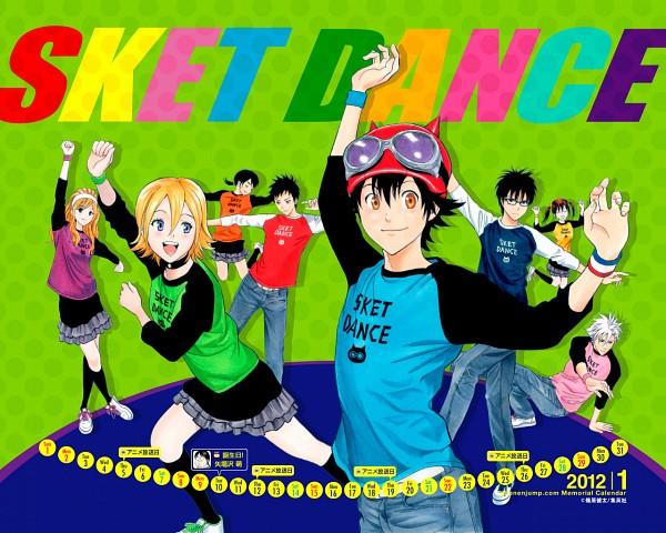 Tags: Anime, SKET Dance, Onizuka Hime, Tsubaki Sasuke, Kibitsu Momoka, Usui Kazuyoshi, Fujisaki Yusuke, Manga Page, Scan