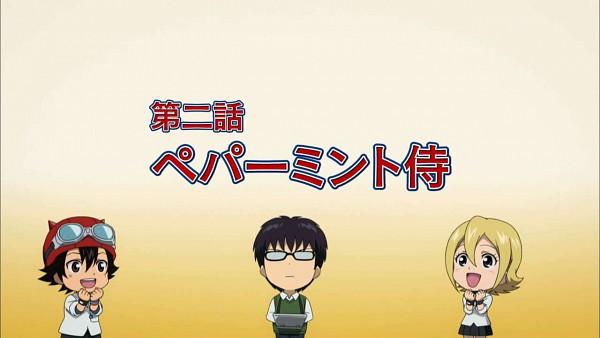 Tags: Anime, SKET Dance, Fujisaki Yusuke, Onizuka Hime, Usui Kazuyoshi, Wallpaper, Screenshot