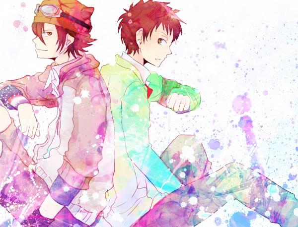Tags: Anime, Pixiv Id 59239, SKET Dance, Tsubaki Sasuke, Fujisaki Yusuke, Pixiv, Fanart