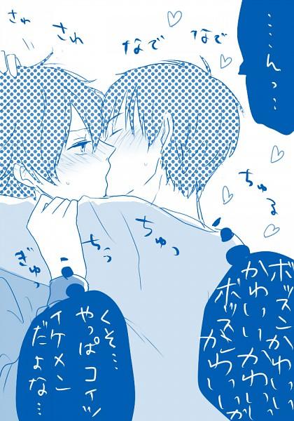 Tags: Anime, SKET Dance, Fujisaki Yusuke, Usui Kazuyoshi, Pixiv, Mobile Wallpaper