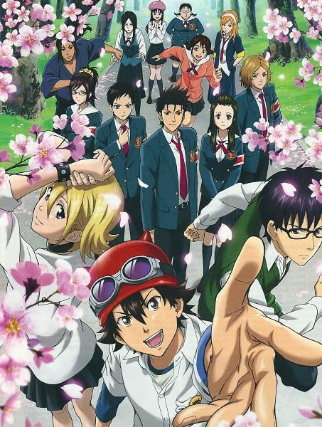 Tags: Anime, SKET Dance, Agata Soujirou, Tsubaki Sasuke, Usui Kazuyoshi, Yabasawa Moe, Fujisaki Yusuke, Yuuki Reiko, Onizuka Hime, Asahina Kikuno, Kibitsu Momoka, Michiru Shinba