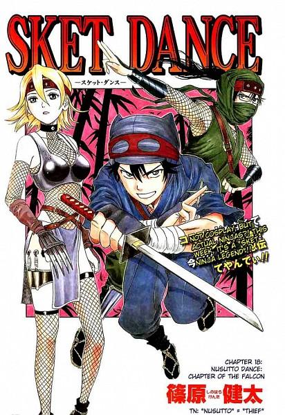 Tags: Anime, SKET Dance, Usui Masafumi, Fujisaki Yusuke, Onizuka Hime, Mobile Wallpaper