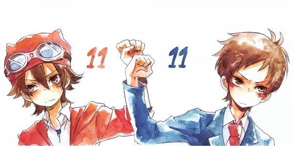 Tags: Anime, SKET Dance, Fujisaki Yusuke, Tsubaki Sasuke, Facebook Cover