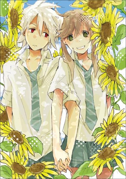 Tags: Anime, Katsura Miya, SOUL EATER, Soul Eater Evans, Maka Albarn, Mobile Wallpaper