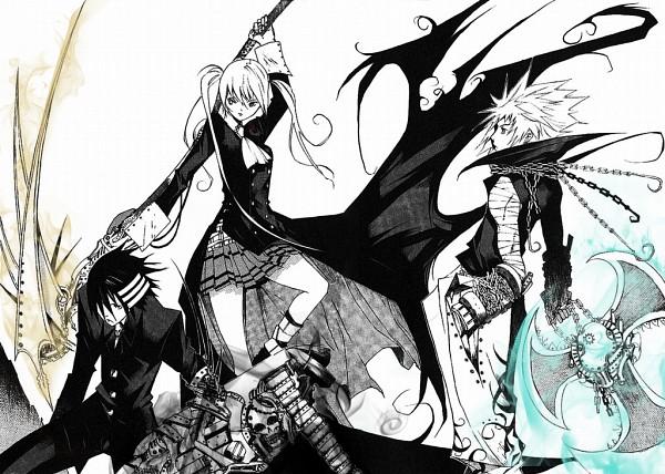 Tags: Anime, Suzuhira Hiro, SOUL EATER, Maka Albarn, Black Star, Death the Kid