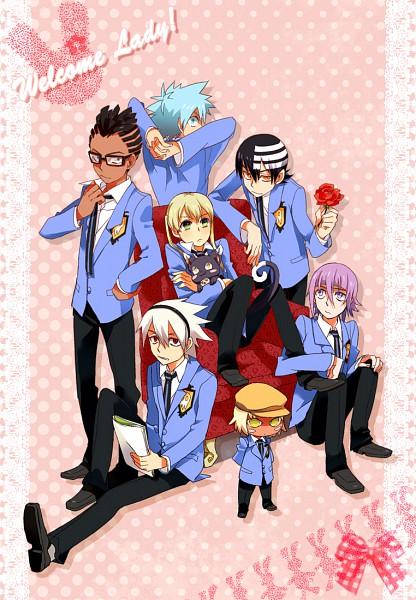 Tags: Anime, SOUL EATER, Blair (Cat), Soul Eater Evans, Crona, Blair, Pot of Thunder (SOUL EATER), Black Star, Death the Kid, Kirikou Rung, Maka Albarn, Ouran High School Host Club (Cosplay), Ouran High School Host Club (Parody)