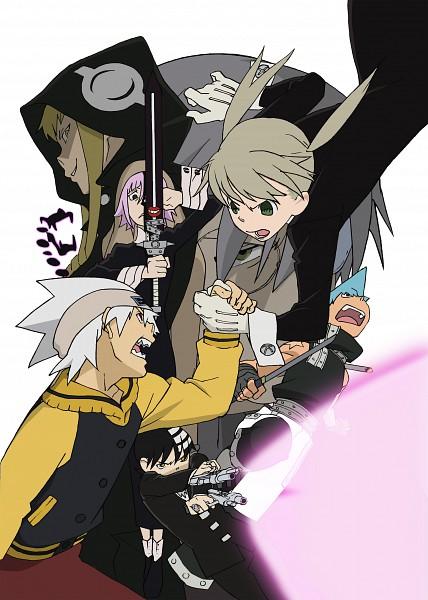 Tags: Anime, SQUARE ENIX, SOUL EATER, Maka Albarn, Soul Eater Evans, Crona, Black Star, Death the Kid, Franken Stein, Medusa Gorgon, Mobile Wallpaper