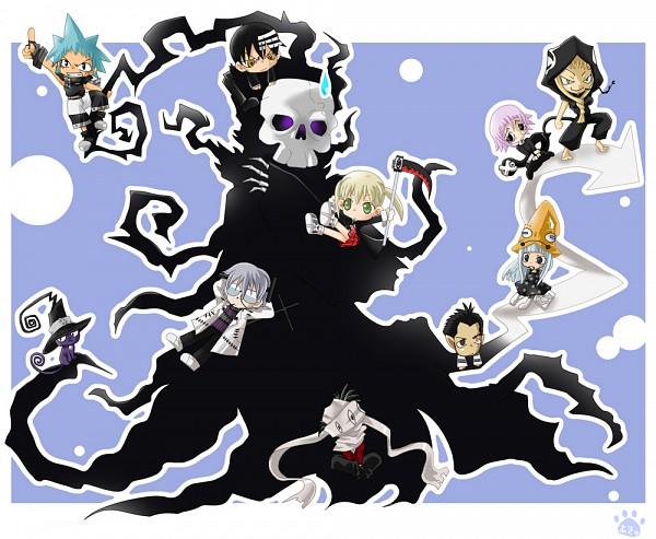 Tags: Anime, SQUARE ENIX, SOUL EATER, Blair, Crona, Free (SOUL EATER), Black Star, Eruka Frog, Death the Kid, Medusa Gorgon, Franken Stein, Shinigami (SOUL EATER), Maka Albarn