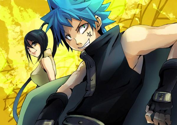 Tags: Anime, SQUARE ENIX, SOUL EATER, Black Star, Nakatsukasa Tsubaki