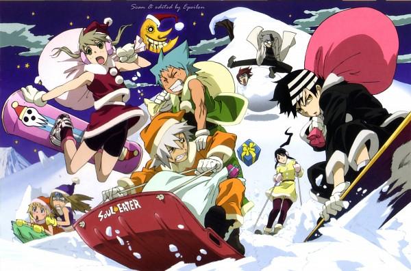 Tags: Anime, Aniplex, BONES (Studio), SQUARE ENIX, SOUL EATER, Elizabeth Thompson, Franken Stein, Nakatsukasa Tsubaki, Maka Albarn, Patricia Thompson, Spirit Albarn, Black Star, Soul Eater Evans