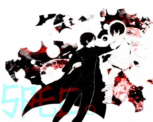 Tags: Anime, Imiya Kaminari, SPEC, Ninomae Juuichi, Pixiv, Fanart