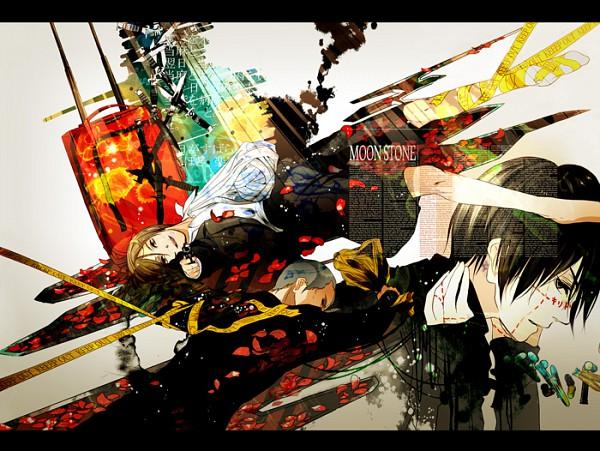 Tags: Anime, En (pixiv 1642655), SPEC, Ninomae Juuichi, Touma Saya, Pixiv, Fanart