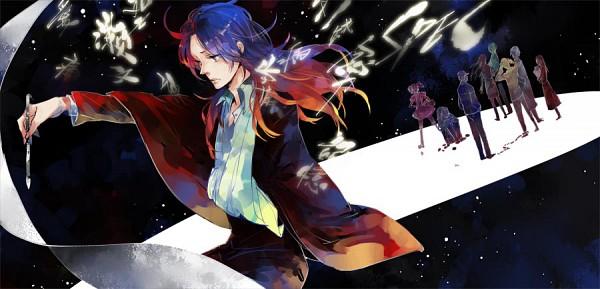 Tags: Anime, Genii, SPEC, Sebumi Takeru, Ninomae Juuichi, Touma Saya, Arm Sling, Pixiv, Fanart