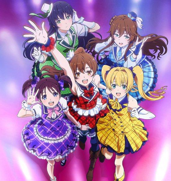 Tags: Anime, Shitaya Tomoyuki, MADHOUSE, Shoumetsu Toshi, Homura (Shoumetsu Toshi), Nami (Shoumetsu Toshi), Haruka (Shoumetsu Toshi), Yua (Shoumetsu Toshi), Rena (Shoumetsu Toshi), Official Art, Key Visual, SPR5
