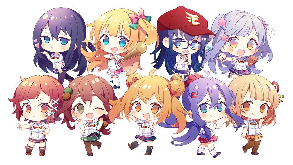 Tags: Anime, Wakanagi Eku, Onsen Musume, Yufuin Baden Kanade, Arima Fuuka, Dougo Izumi, Hakone Saya, Akiu Nanako, Gero Mitsuki, Arima Rinka, Kusatsu Yuina, Noboribetsu Ayase, Official Art