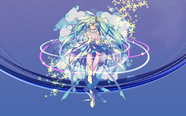 Tags: Anime, Refeia, Project DIVA F 2nd, VOCALOID, Hatsune Miku, Wallpaper, Project DIVA Orbit, SPiCa (Song)