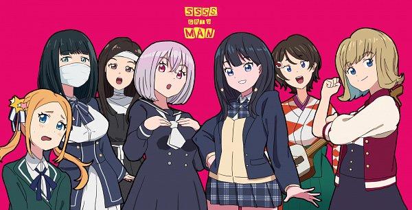 Tags: Anime, Pixiv Id 32323646, SSSS.Gridman, Takarada Rikka, Hass, Namiko, Marusa Ramo, Borr, Furuma Ako, Shinjou Akane, Zombieland Saga (Parody)