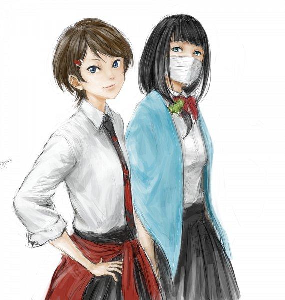 Tags: Anime, Pixiv Id 936217, SSSS.Gridman, Hass, Namiko