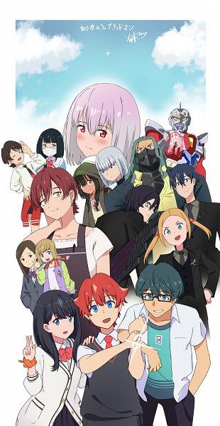 Tags: Anime, Pixiv Id 32323646, SSSS.Gridman, Utsumi Shou, Borr, Gridman, Hass, Max (SSSS.Gridman), Hibiki Yuuta, Namiko, Samurai Calibur, Rikka Mama, Takarada Rikka