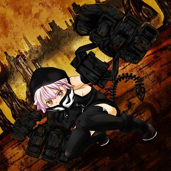 Tags: Anime, Watarui, Black★Rock Shooter, Koutari Yuu, STRength, Pixiv