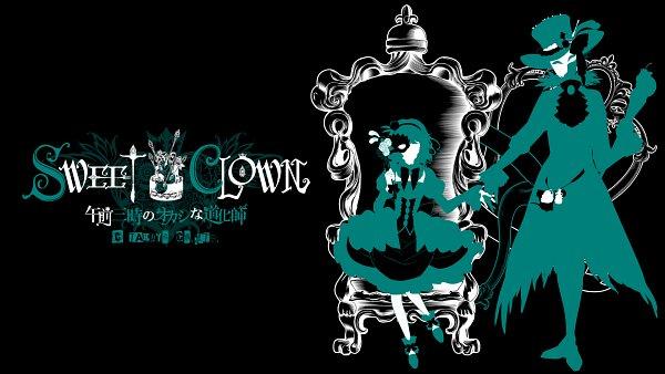 Tags: Anime, Hirose Azumi, TAKUYO, SWEET CLOWN ~Gozen San-ji no Okashi na Doukeshi~, Kashino Zakuro, Sweet Clown (Character), Wallpaper, Official Art, Official Wallpaper
