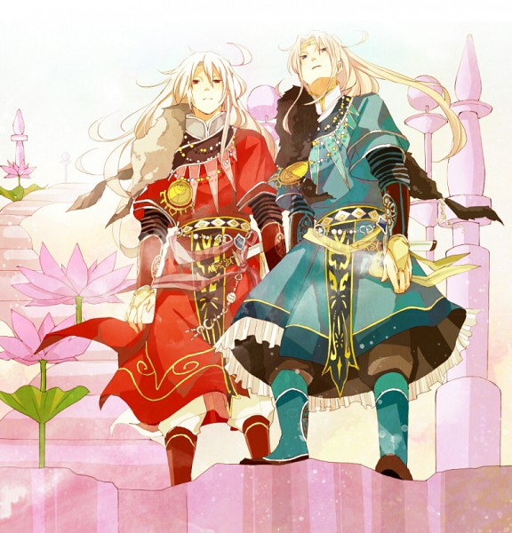 Tags: Anime, Xxll, SaGa Frontier, Rouge (Saga Frontier), Blue (Saga Frontier), Pixiv, Fanart