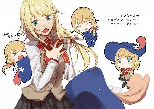 Tags: Anime, No-kan, Fate/Grand Order, Saber (Chevalier d'Eon), Matou Sakura (Cosplay), Pixiv, Fanart, Fanart From Pixiv