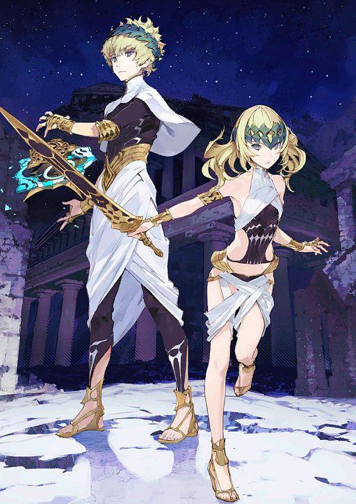 Saber (Dioscuri) - Fate/Grand Order