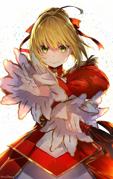 Tags: Anime, Mika Pikazo, Fate/EXTRA, Saber (Fate/EXTRA), Mobile Wallpaper, Fanart, PNG Conversion