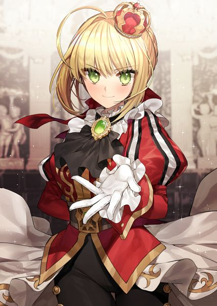 Tags: Anime, GAMBE, Fate/Grand Order, Saber (Fate/EXTRA)