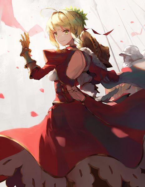 Tags: Anime, natsumoka, Fate/Grand Order, Saber (Fate/EXTRA)