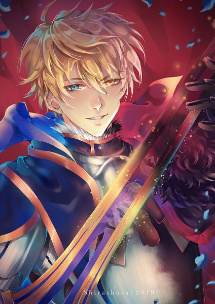 Tags: Anime, Pixiv Id 5661835, Fate/Prototype, Saber (Fate/Prototype), Arthur Alter, Excalibur Proto