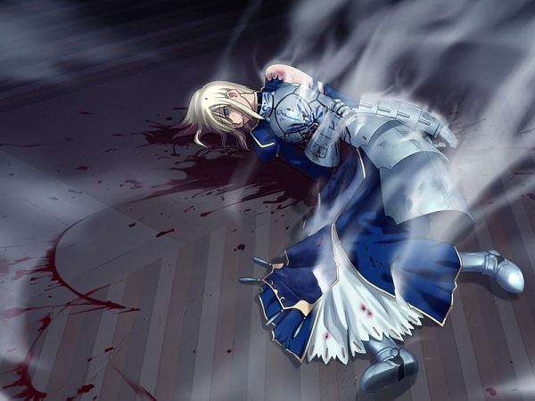 Tags: Anime, Takeuchi Takashi, TYPE-MOON, Fate/stay night, Saber (Fate/stay night), CG Art