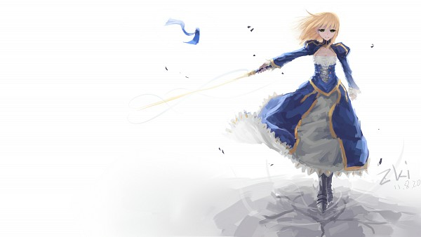 Tags: Anime, Tuzki, TYPE-MOON, Fate/zero, Saber (Fate/stay night), Wallpaper, HD Wallpaper, Facebook Cover