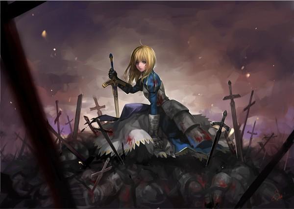 Tags: Anime, Asukaziye, Fate/stay night, Saber (Fate/stay night), Pixiv, Fanart From Pixiv, Fanart