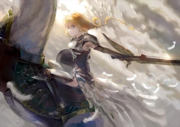 Tags: Anime, Yunohara Konomi, TYPE-MOON, Fate/stay night, Saber (Fate/stay night), Lightning Farron (Cosplay)