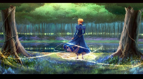 Tags: Anime, Pixiv Id 2626667, TYPE-MOON, Fate/stay night, Saber (Fate/stay night), Fanart From Pixiv, Fanart, Pixiv, Facebook Cover