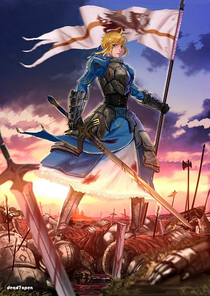 Tags: Anime, Dead7open, TYPE-MOON, Fate/stay night, Saber (Fate/stay night)