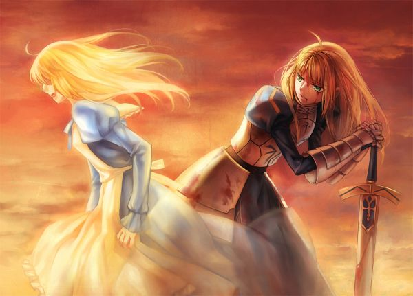 Tags: Anime, kanmuri, TYPE-MOON, Fate/zero, Saber (Fate/stay night)