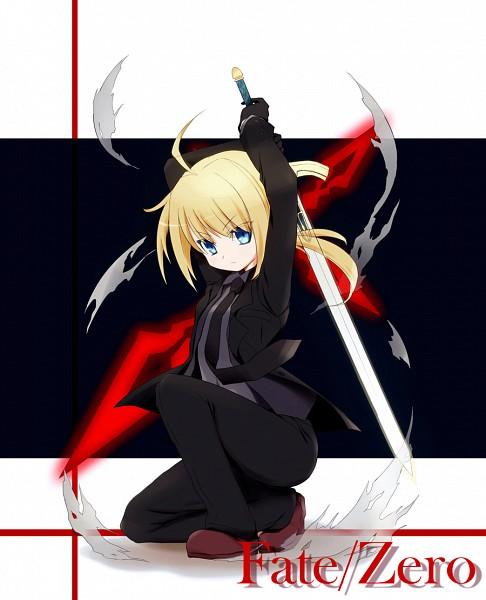 Tags: Anime, Koumori Usagi, TYPE-MOON, Fate/zero, Saber (Fate/stay night), Pixiv, Fanart From Pixiv, Fanart