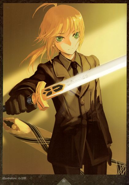 Tags: Anime, As109, Fate/zero, Saber (Fate/stay night), Avalon (Sheath), Mobile Wallpaper, Comic Market 83, Scan, Comic Market, Fanart