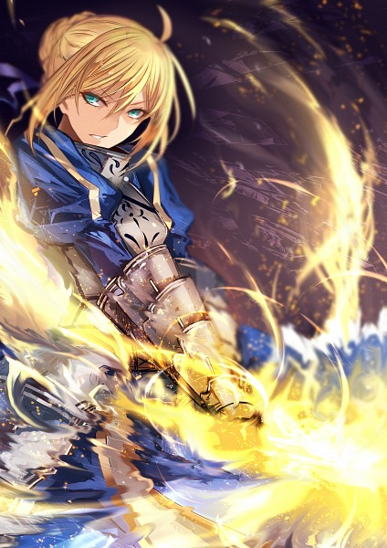 Tags: Anime, johnDeeeeee, Fate/stay night, Saber (Fate/stay night), Twitter, Fanart, PNG Conversion, Mobile Wallpaper