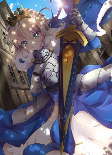Tags: Anime, Pixiv Id 32341388, Fate/Grand Order, Saber (Fate/stay night)