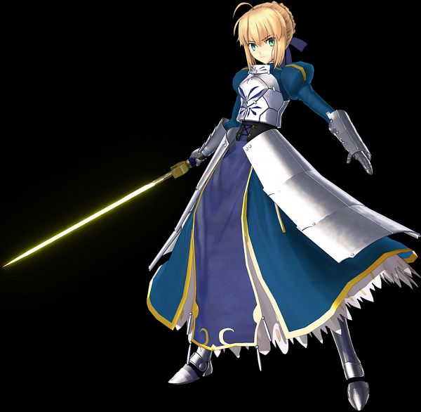 Tags: Anime, Sega, Fate/Grand Order Arcade, Fate/Grand Order, Saber (Fate/stay night), Official Art, 3D
