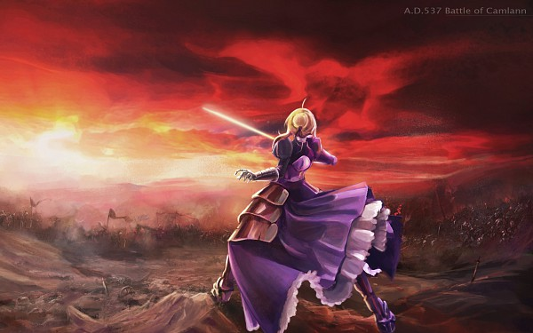 Tags: Anime, Ushas, TYPE-MOON, Fate/stay night, Saber (Fate/stay night), Wallpaper, HD Wallpaper