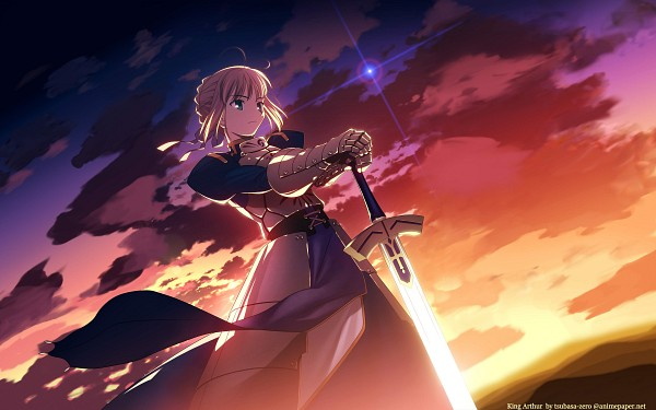 Tags: Anime, Fate/stay night, Saber (Fate/stay night), HD Wallpaper, Wallpaper