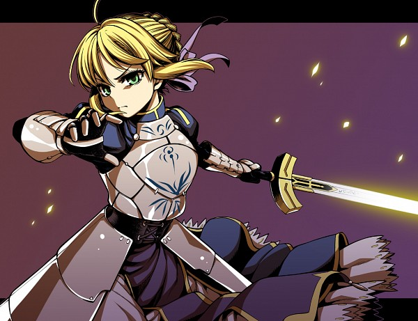 Tags: Anime, Uousa, TYPE-MOON, Fate/stay night, Saber (Fate/stay night), Fanart, Pixiv