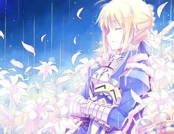 Tags: Anime, Kinoshita Neko, Fate/stay night, Saber (Fate/stay night), Avalon (Sheath), Pixiv, Fanart