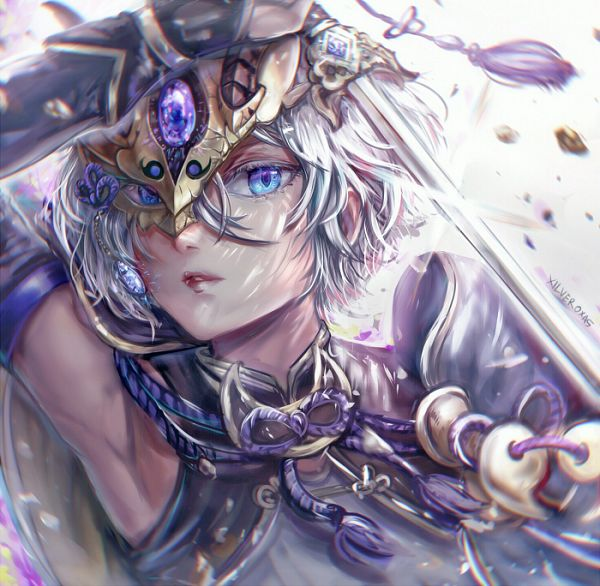 Tags: Anime, Xilveroxas, Fate/Grand Order, Saber (Lanling Wang)